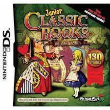 junior clic books and fairytales nintendo ds by maximum games
