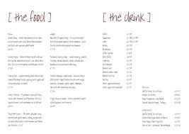 pages menu template free menu templates download free menu template free editable