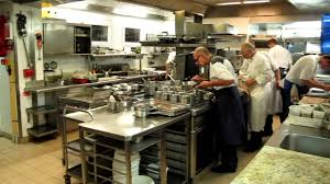 Busy kitchen at La Bastide Saint Antoine YouTube