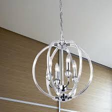 crystal orb pendant light chrome chandelier modern font lighting ceiling s tampa