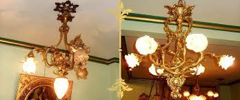 antique dore bronze french louis xv rococo style mantel clock
