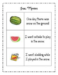 Small Moment Watermelon Anchor Chart Bulletin Board Ideas For Small Moments Worksheets Tpt