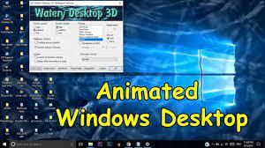 Make Your Windows Desktop Screen 3D ...