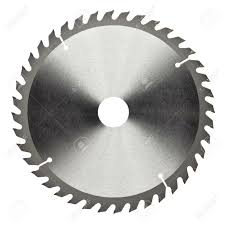 saw blade outline. circular saw: saw blade outline r