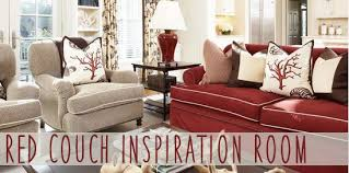 red couch decorating designer decor knockoffs
