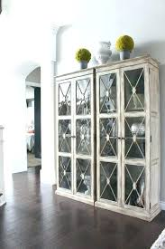 armoire glass doors small black cabinet with glass doors black cabinet with glass door wood and