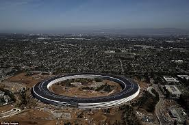 apple new office. the 175acre campus cost roughly 5bn and will house 13000 employees across more apple new office