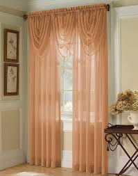 Copper Curtain Rod Ambrosia Striped Soft Sheer Window Panel Curtainworkscom