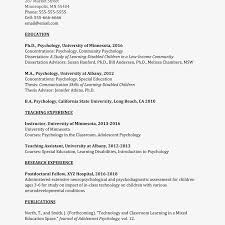 Curriculum Vitae Samples Academic Curriculum Vitae Cv Example And Writing Tips