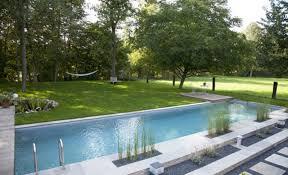 infinity pool design backyard. Large Backyard Infinity Pool Design A