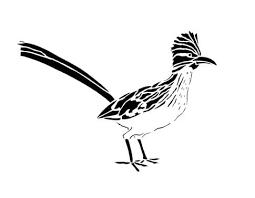 美しい鳥のシルエットのイラスト 清水正廣のバードカービングアート
