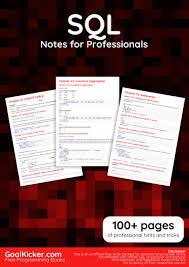 free sql database book