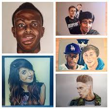 28 collection of jj s drawing of ethan in the sidemen book