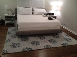 rug for under king size bed roselawnlutheran best of area rug under bed