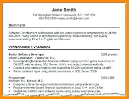 Examples Of Resume Summarys Kordurmoorddinerco Gorgeous Summary In Resume