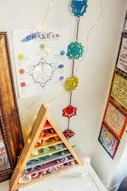 my 7 chakras poster meditation room