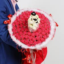Paper Origami Flower Bouquet Diy Simulation 33 Rose Origami Flower Bouquet Foam Sponge Material