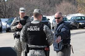 Military Police National Guard Massachusetts Graduates The Nations First Civilian Police Academy