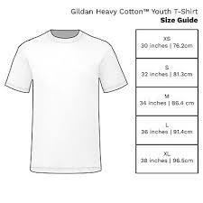 Gildan Heavy Cotton Youth T Shirt Kids Boys Girls Tee 5000b
