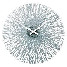 Вот где купить <b>Часы настенные Silk</b> серые, Koziol