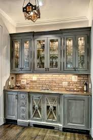 antiqued kitchen cabinets distressing cabinets with chalk paint
