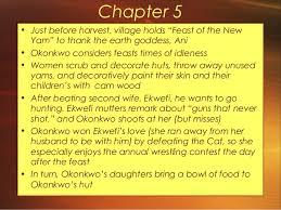 things fall apart chapter guide  okonkwo s hut 8
