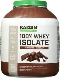 Kaizen Naturals <b>Whey Protein</b> Isolate, Chocolate, <b>2</b> kg: Amazon.ca ...