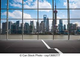 city window from outside. Perfect From Shanghai Outside The Window  Csp13680777 In City Window From Outside S