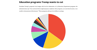 2018 Us Budget Pie Chart By The Numbers President Trumps 10 Biggest Proposed Cuts