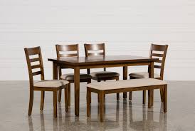 seater extending dining table oak line at patterson 6 piece dining set
