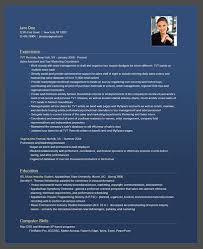 Resumebear Online Resume Corporate Blue Resume Sample Flickr