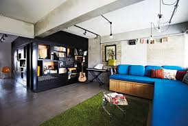 Small Picture An open concept 3 room HDB flat Home Decor Singapore http