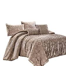 Chezmoi Collection Damon 5-Piece Comforter Set ... - Amazon.com