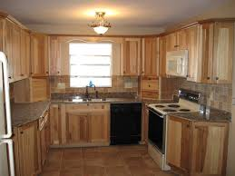 amazing hickory kitchen cabinets