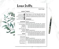 Pages Resume Template New Pages Cv Template Free Beautiful Resume Template For Mac Pages