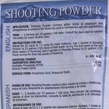 Shooting Powder By House And Garden
