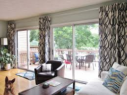 awesome extra long curtain rods for sliding glass door with wooden laminate floor and wooden coffee