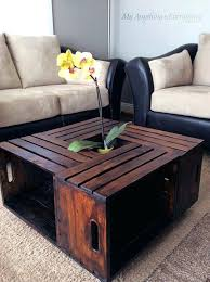 coffee tables with storage crate table ikea baskets