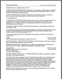 Bills Federal Resume Vintage Usajobs Resume Example Good Sample
