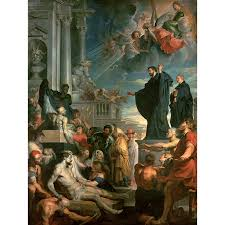 oil painting on canvas 100 cotton core peter paul rubens the miracles of st francis xavier ygh360 in painting calligraphy from home garden on