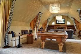Rec room lighting Billiard Luxurious Chandelier In The Rec Room Don Pedro 23 Most Extravagant Basement Rec Room Ideas
