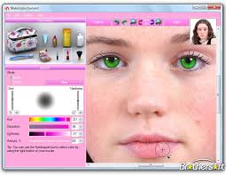 makeup software screenshot