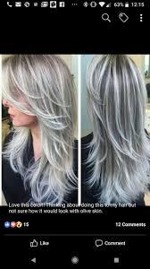 Pin Van Angelique Kerbof Op Haarkleuren Grijs Haar Kapsels Blond