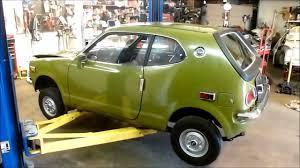 Pristine old Honda z600 begins a new life - YouTube