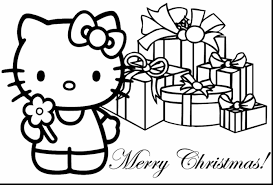Small Picture Kitty Christmas Colouring Pages Kitty Coloring Pages Roller