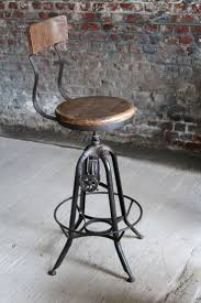 metal furniture design. industrial bar stool in wood and metal baraku00277 uk furniture design r