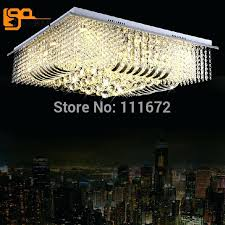 chandelier square new luxury modern square crystal chandelier lighting re led lamps for home square crystal