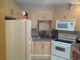oak kitchen cabinets before painted prince george bc canada