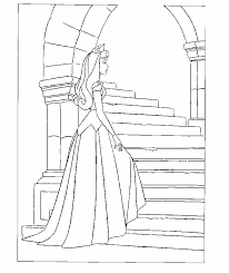 Small Picture Coloring Page Sleeping beauty coloring pages 16