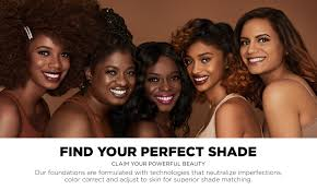 African American Complexion Chart Find The Best Foundation Shade For Your Skin Tones Black